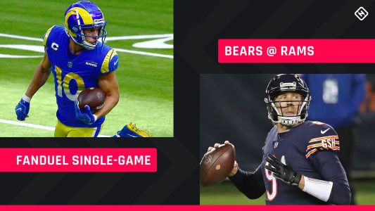 Monday Night Football FanDuel Picks: NFL DFS lineup advice for Week 7 Bears-Rams single-game tournaments