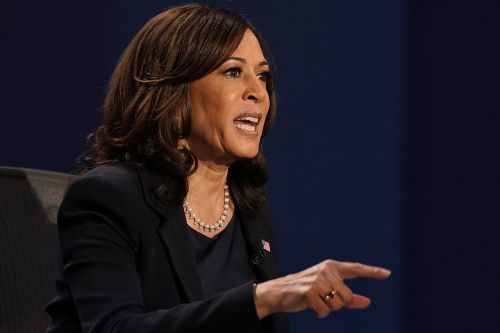Harris accuses Pence of covering up Covid and bungling pandemic response