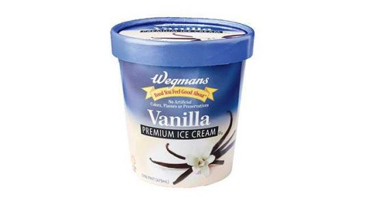 Lawsuit: Wegmans vanilla ice cream does not contain vanilla