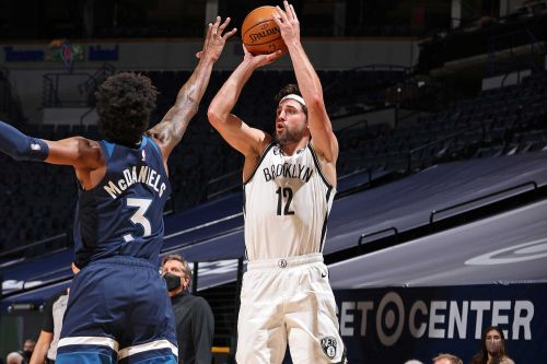 Nets turn to deep ball in matinee rout of Timberwolves