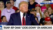 'Send Her Back!' Trump Rally Erupts With New Racist Chant About Rep. Ilhan Omar