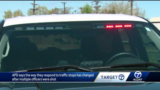 APD said how officers respond to traffic stops changed after multiple cops were shot