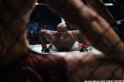 Two months later, Derrick Lewis still hasn't taken advantage of free Popeyes chicken for life