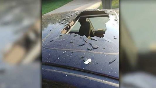 Whoa! Shampoo bottle left in car explodes in heat, family says