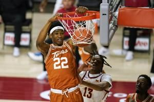 Reserve Kai Jones' 17 points lead No. 15 Texas past Cyclones