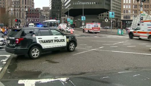 Woman pulled from underneath Red Line train, fire chief says