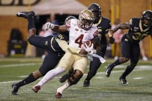Wake Forest beats Florida State 22-20 on Sciba's 5th FG