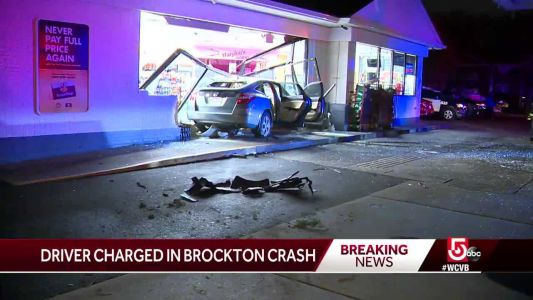 Driver faces charges after crashing into coffee shop, gas station