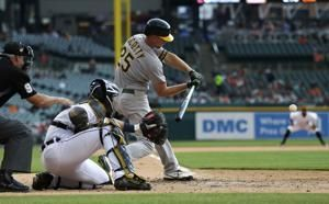 Athletics-Tigers game suspended in 7th with A's up 5-3