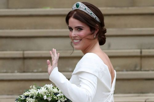 Princess Eugenie's Wedding Dress Showed Off Her Scars for a Reason
