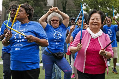 These senior citizens held a field day and served up major fitspo