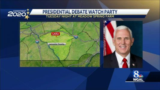 Vice President Pence to hold presidential debate watch party in Lancaster County