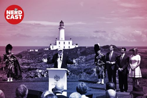 Trump's Turnberry resort and a zombie impeachment memo