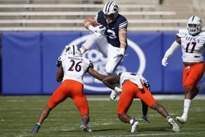 Touching tribute: BYU's Masen Wake honors late mom after TD