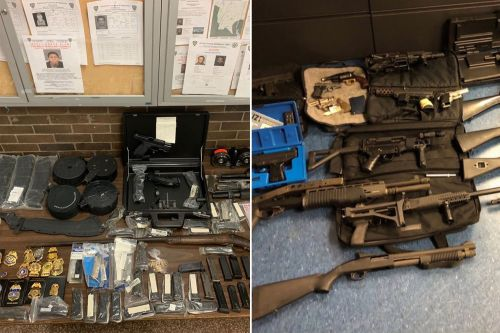 Bronx man busted with arsenal of guns, phony police badges