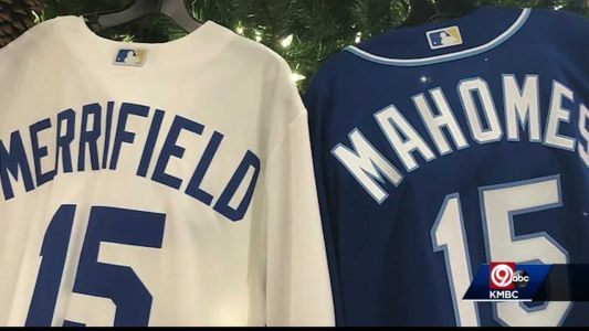 Mahomes' number on a Royals jersey? Whit Merrifield would like a word