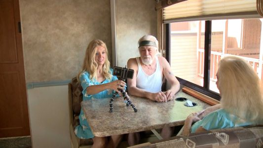 Woman traveling across country in RV aims to help veterans, first responders