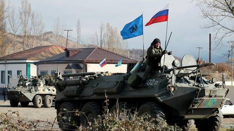 Moscow denies Armenian PM's claim that Russian peacekeepers were encircled by Azerbaijani forces in Nagorno-Karabakh