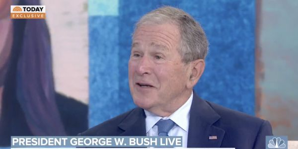 George W. Bush condemns the Republican Party as 'isolationist, protectionist' and 'nativist' and says it's scaring people about immigration
