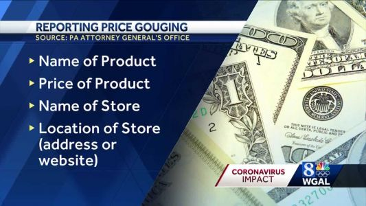 Nearly 2,900 price gouging complaints sent to Pa. attorney general