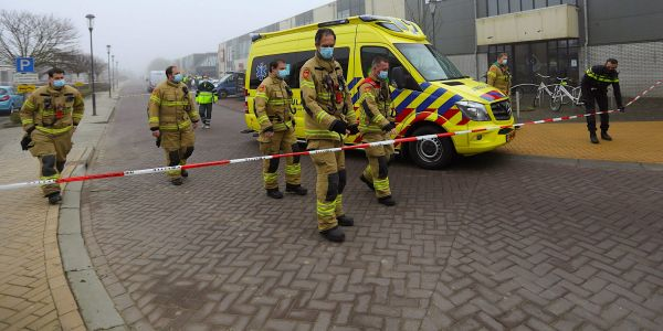 Someone bombed a COVID testing site and Dutch police fear anti-lockdown protesters may have turned to terrorism