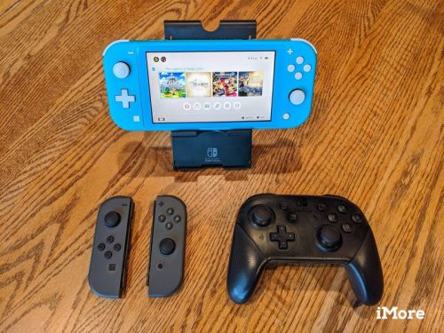 Go ahead and get some external controllers for your Nintendo Switch Lite
