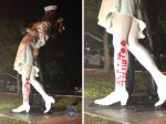 """Statue Of WWII Sailor Kissing Nurse Vandalized With """" MeToo"""""""