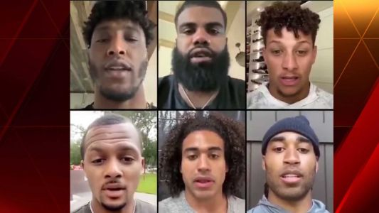 Mahomes, Mathieu join more than dozen players to send message to NFL about racial inequality