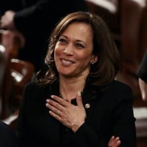 2020: Harris wins vice presidency