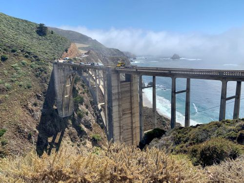 Roads closed in Big Sur to reduce illegal camping
