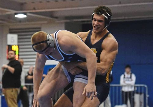 High school wrestling: Mt. Lebanon senior wins fourth title at Allegheny County tournament