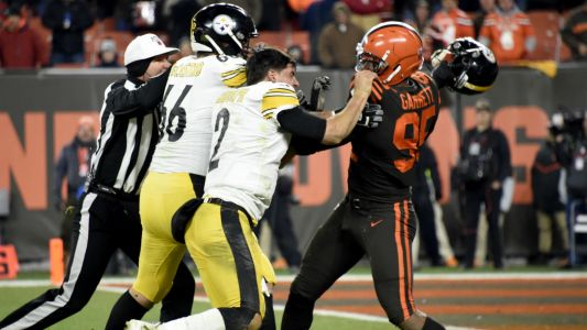 Myles Garrett claims Mason Rudolph used racial slur prior to Browns-Steelers brawl, report says
