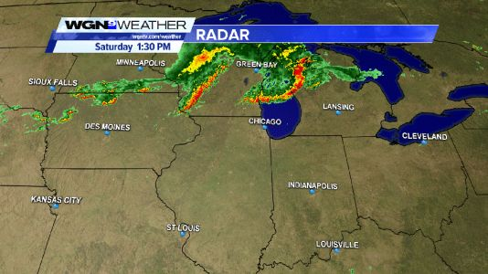 Mesoscale Discussion - potential severe storms across northern Illinois