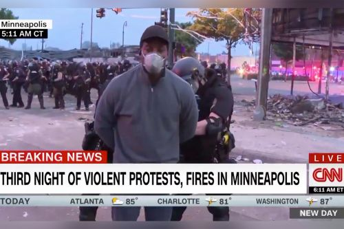CNN crew arrested on live TV amid George Floyd protests in Minneapolis