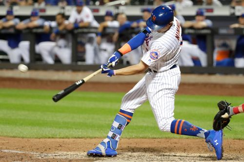 Brandon Nimmo saves deGrom's gem with walkoff HR in 10th