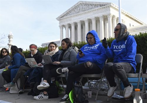 Protections for 660,000 immigrants on the line at Supreme Court