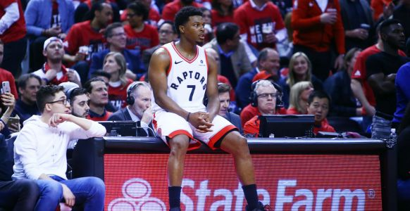 NBA playoffs 2019: Kyle Lowry hilariously checks box score after Game 2 win