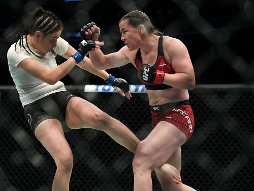 Molly McCann won on her 'worst day' after sickness struck at UFC on ESPN 6