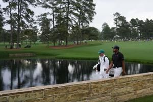 Finau gets a call during Masters delay, from Tom Brady