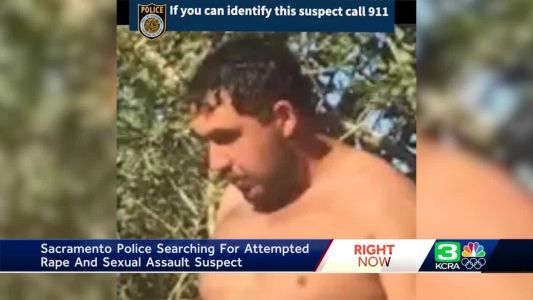 Search for sexual assault suspect in Sacramento