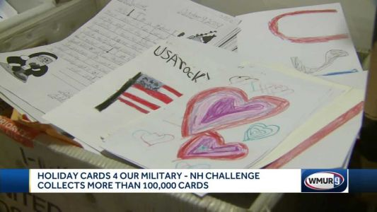 Hollis woman to send more than 100,000 holiday cards to troops
