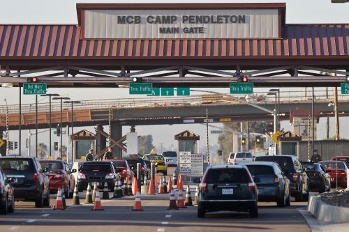 9 Marines at Camp Pendleton charged with human smuggling