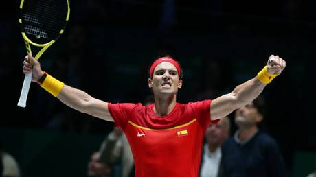 Rafa to the rescue: Nadal leads Spain to victory over Russia in Davis Cup