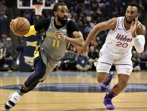 AP source: Grizzlies trade guard Mike Conley to Utah Jazz