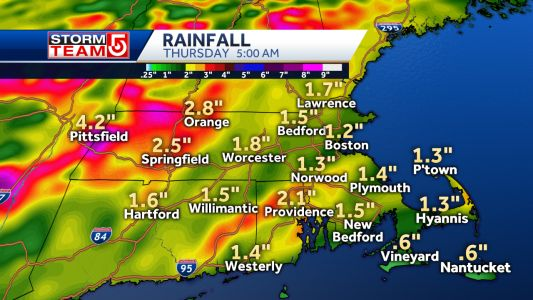 Soaking rain ahead Tuesday, storms for some Wednesday