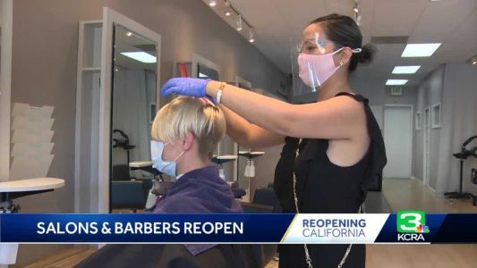 Salon appointments book up after California eases COVID-19 restrictions