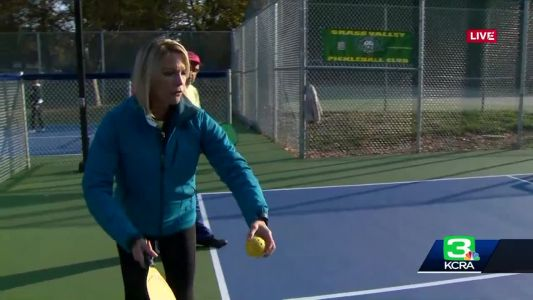 New Pickleball Courts Open In Grass Valley