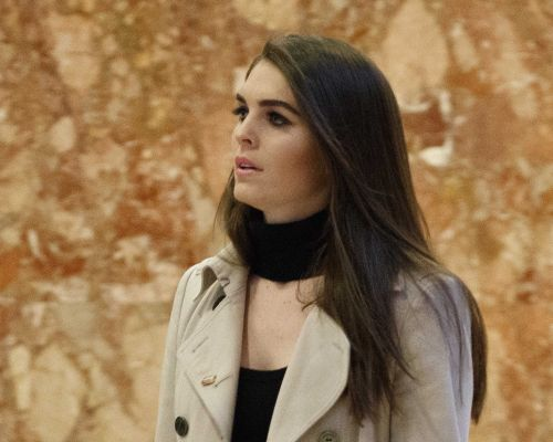 Hope Hicks won't answer questions about the White House in congressional interview