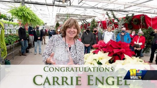 Carrie Engel of Valley View Farms awarded 2020 Professional Achievement Award