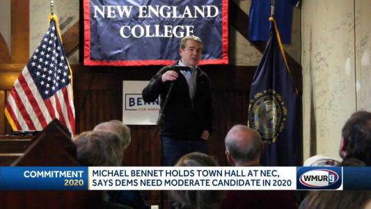 Michael Bennet holds town hall in Henniker